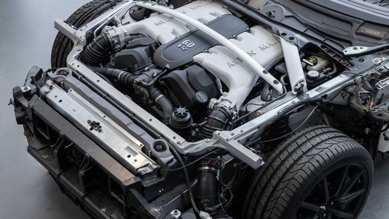 Aston Martin Vantage V12 Zagato Heritage Twins assembly begins