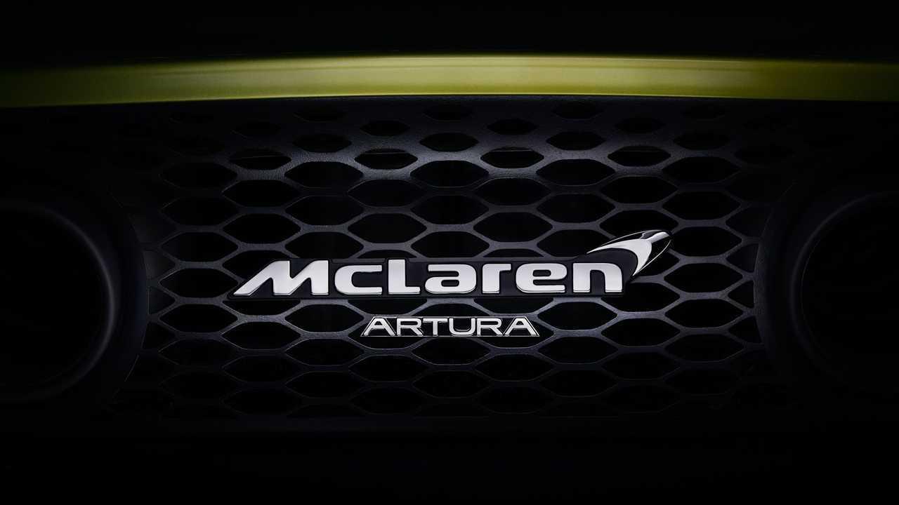 McLaren Artura Teasers