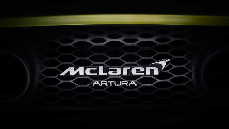 McLaren names its high-performance hybrid supercar the Artura