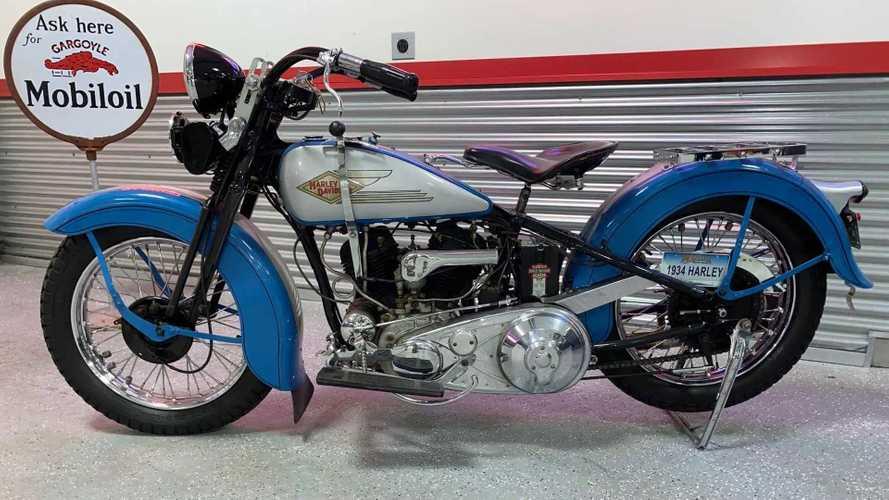This 1934 Harley-Davidson VD Is A True Survivor