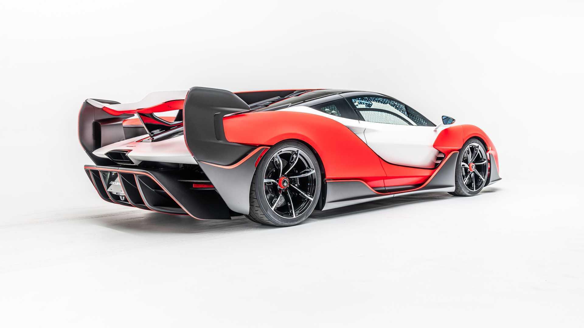 2021 McLaren Sabre Rear