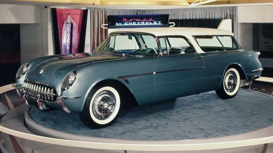 Chevrolet Nomad, la station wagon a tre porte nata dalla Corvette