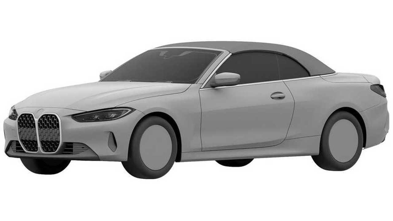 2021 BMW 4 Serisi Cabrio Patent Görüntüleri