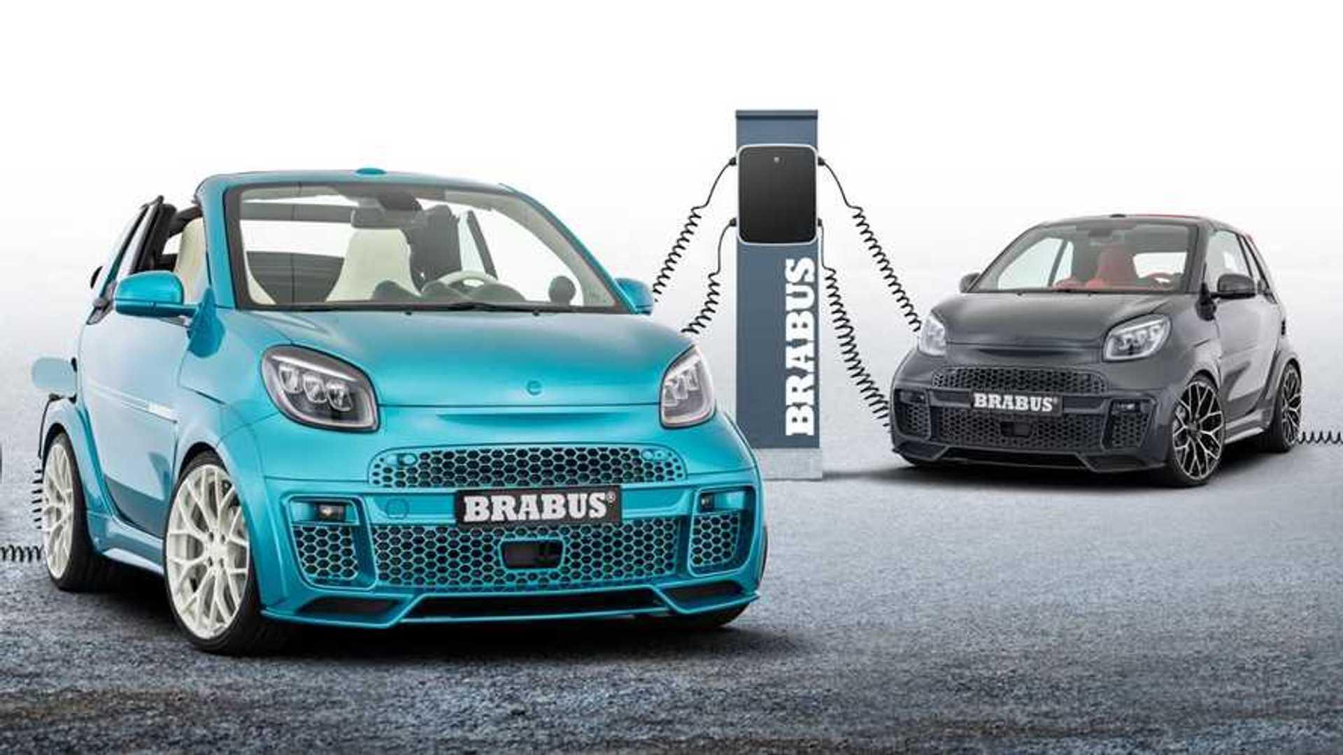 BRABUS Ultimate E, el smart eléctrico más potente y deportivo