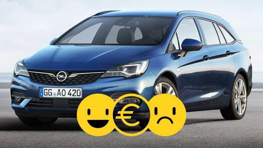 Promozione Opel Astra Sports Tourer, perché conviene e perché no