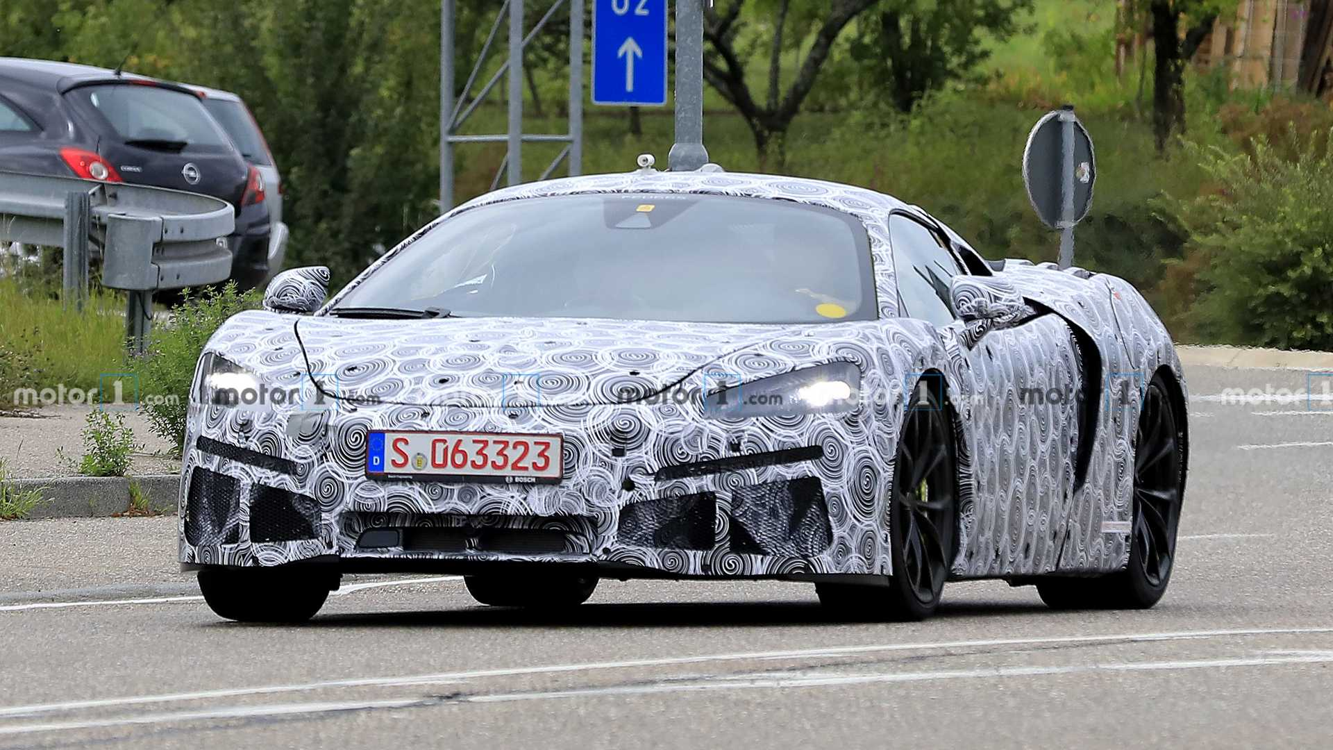 McLaren Sports Series Hybrid Front Spy Photo