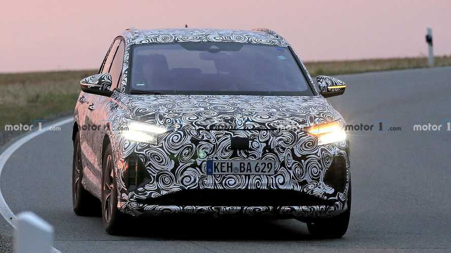 Audi Q4 E-Tron - flagra