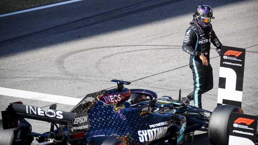 2020 Toskana GP: Olaylı yarışı Hamilton kazandı, Albon podyuma çıktı!