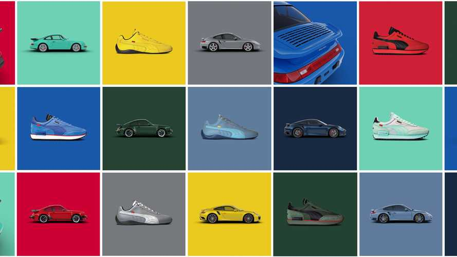 Porsche And Puma Launch 911 Turbo-Inspired Shoes