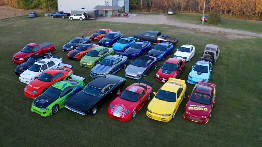 Koleksi Mobil Epik Fast and Furious di Ladang Pedesaan Kanada