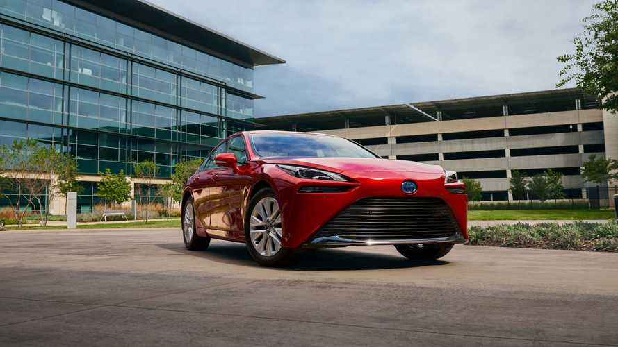 2021 Toyota Mirai (US-spec)