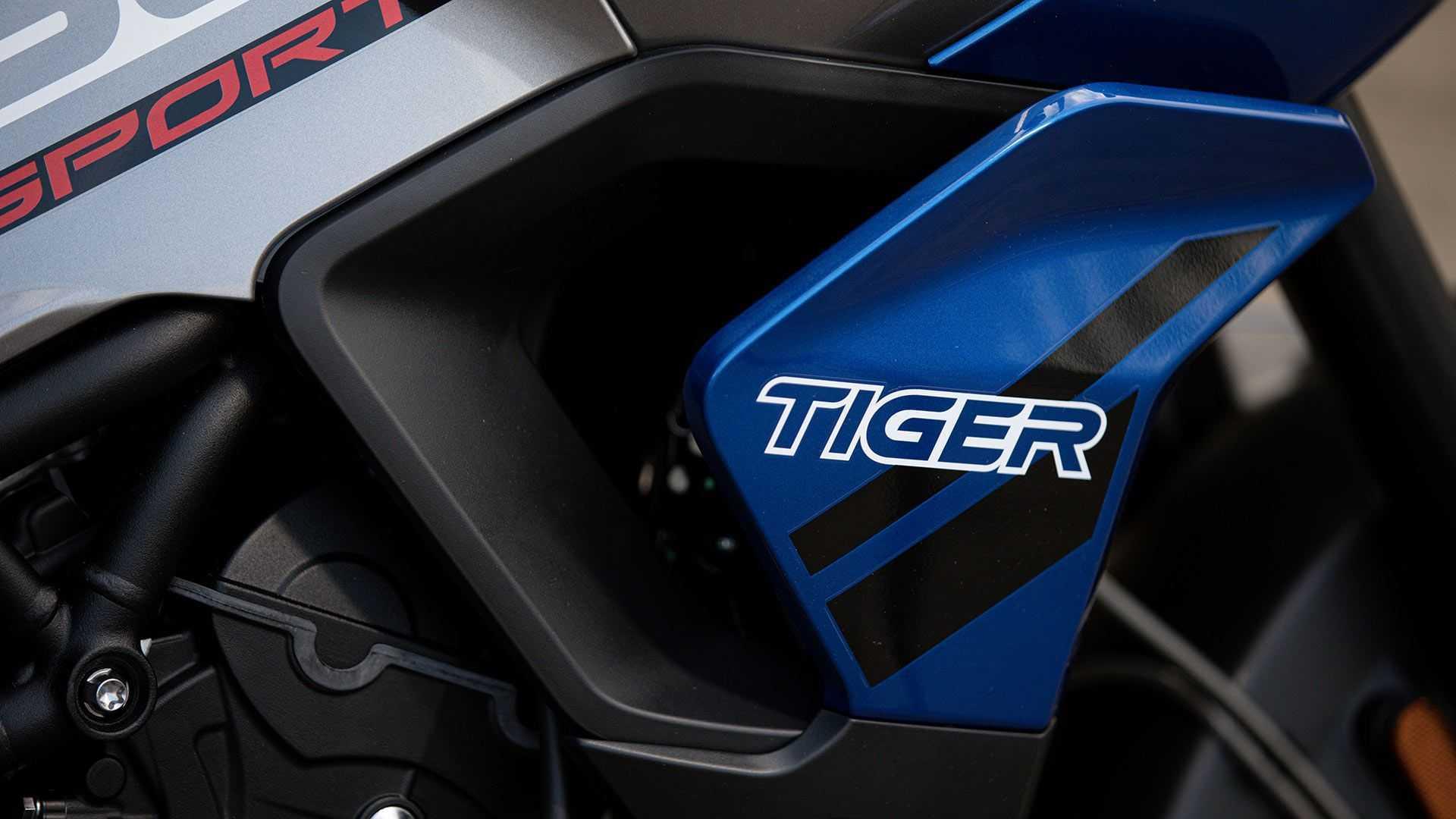 2021 Triumph Tiger 850 Esportes, Detalhes, Gráficos