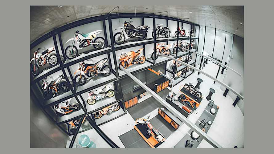 Take A Peek At All The Austrian Bike Treasures In KTM Motohall
