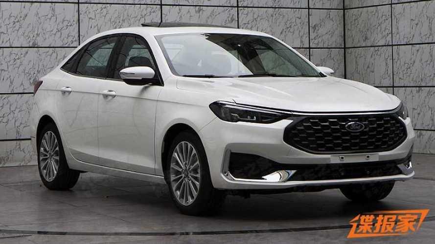 Der Ford Escort für China bekommt ein großes Facelift