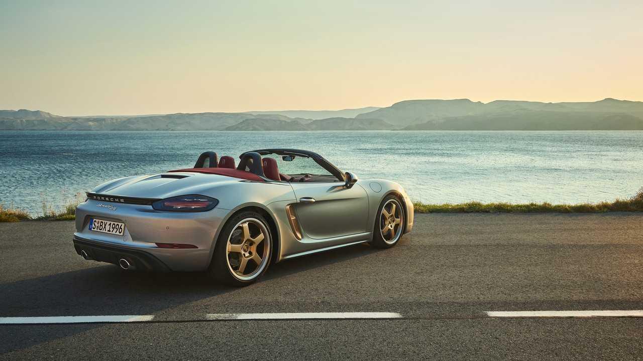 Porsche Boxster 25 2021