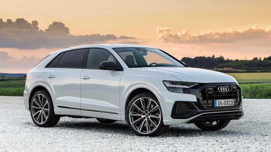 Audi Q8'in plug-in hibrit versiyonu tanıtıldı