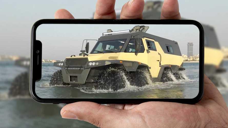 Avtoros Shaman 8x8 im Video: Monster-Offroader am Strand von Dubai