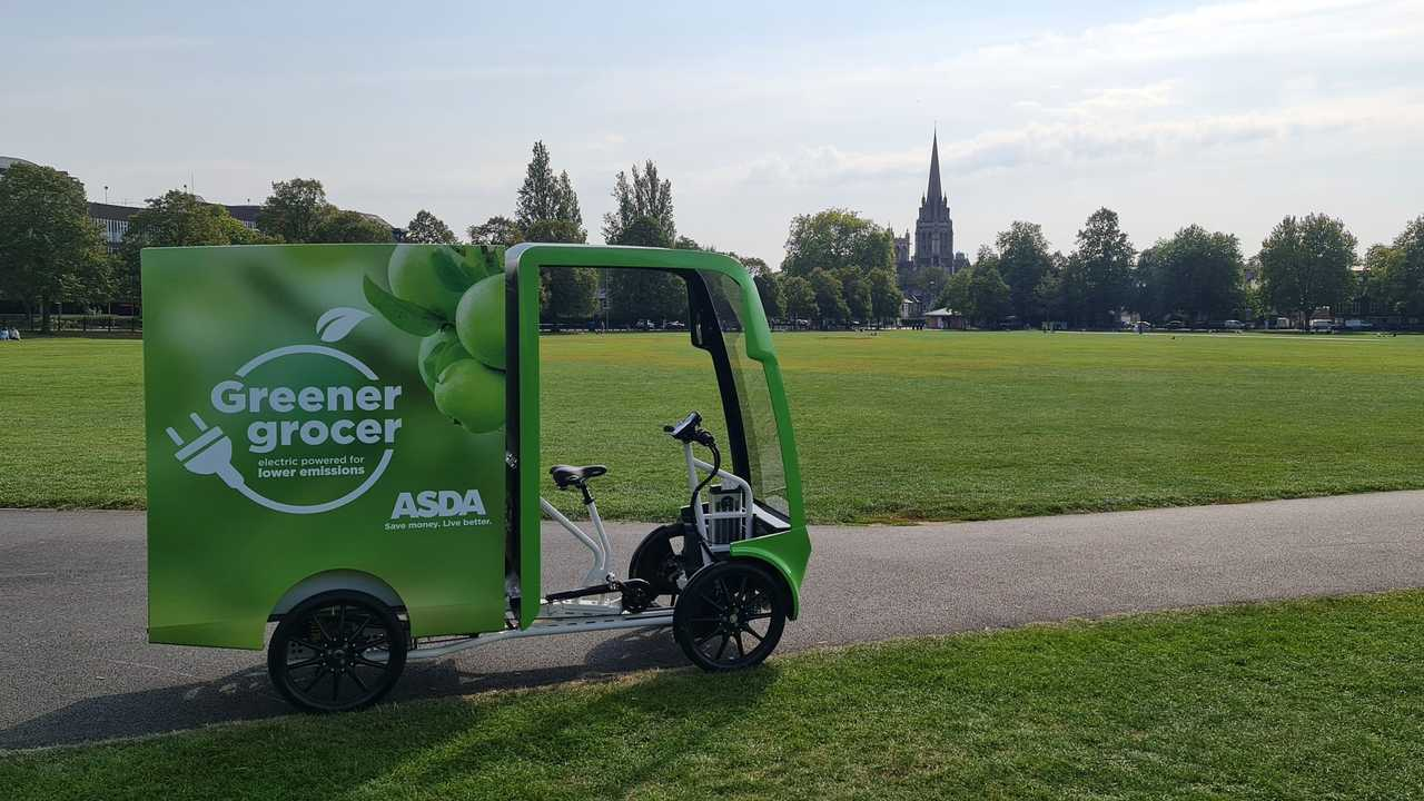Asda trials ultra lightweight EAV for deliveries
