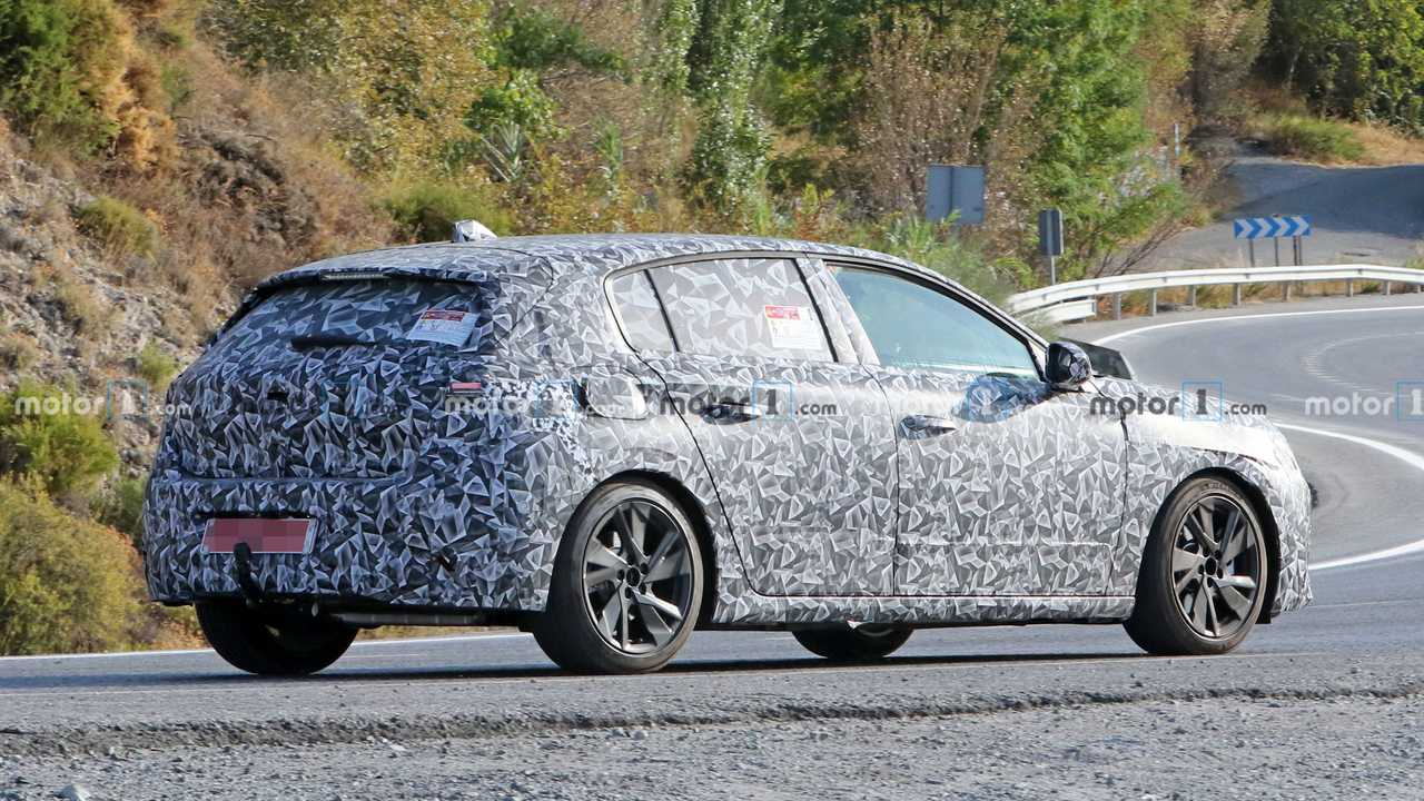 Yeni 2021 Peugeot 308 Casus Fotoğrafları