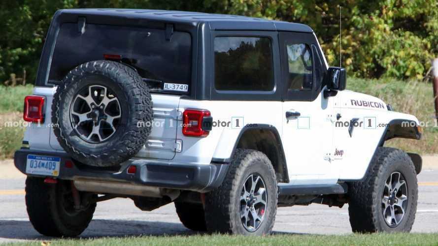 Jeep Wrangler Half-Doors Spy Photos