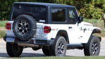 Jeep Wrangler Half-Doors Spy Photos