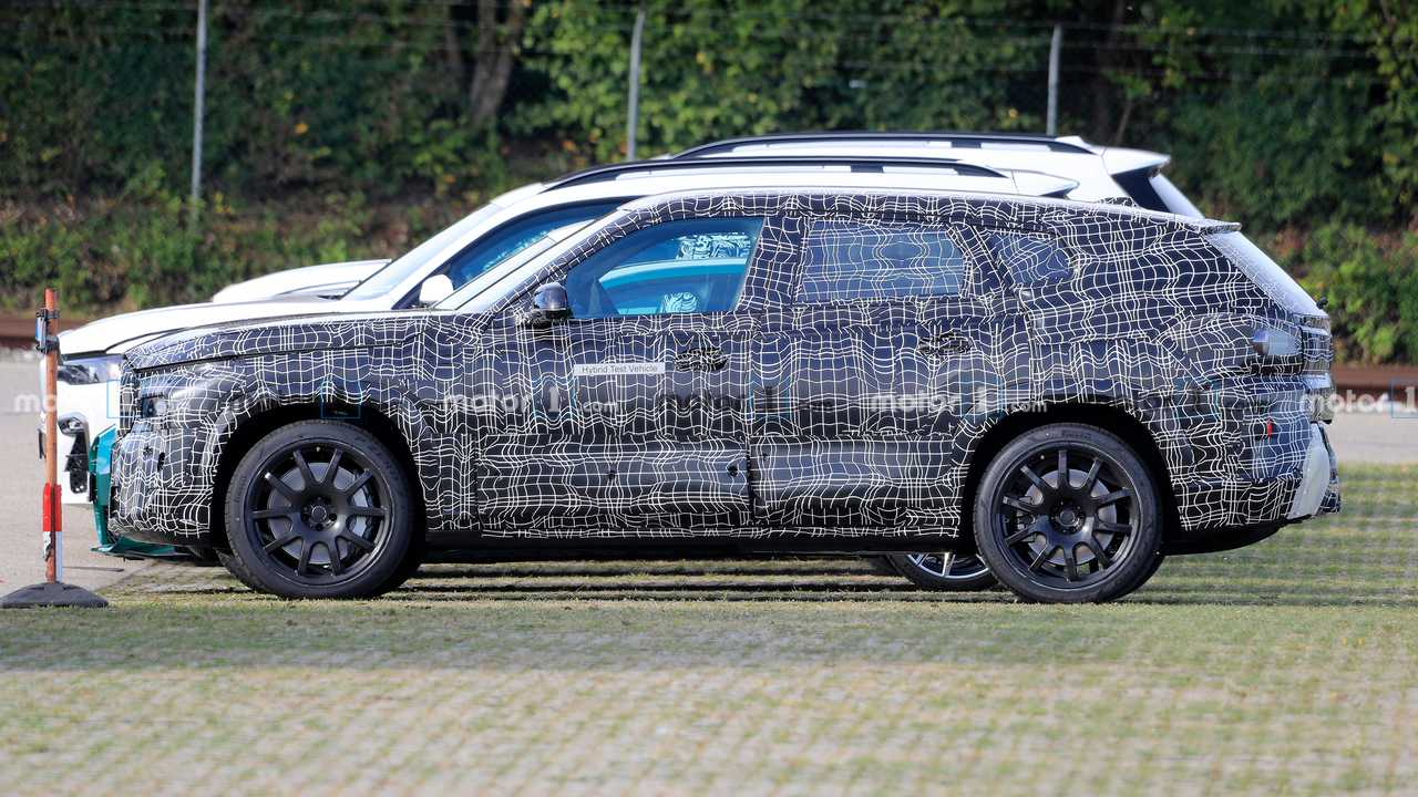 BMW X8 Spy Shots Silhouette