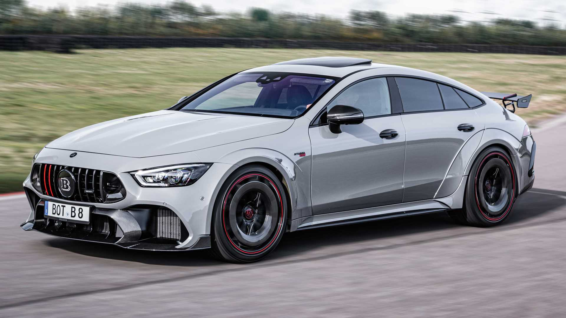 Brabus Rocket 900 Unleashed As Mercedes-AMG GT63 S With Mega Power