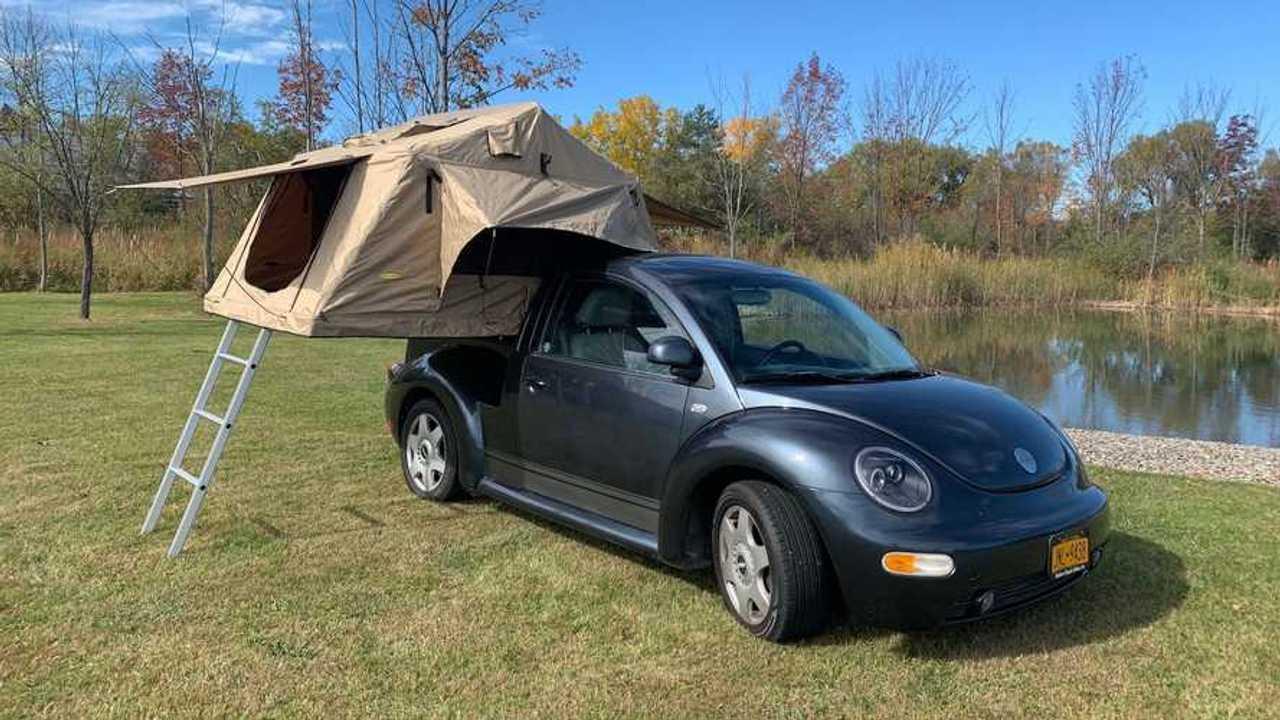 Volkswagen Beetle pick-up camper