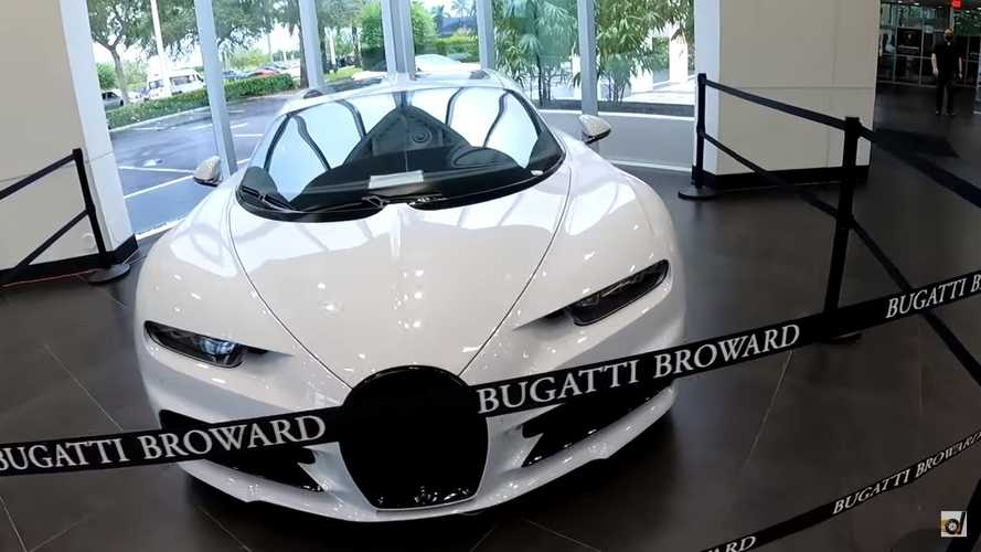¿Cuánto cuesta el alquiler de un Bugatti Chiron Sport usado?
