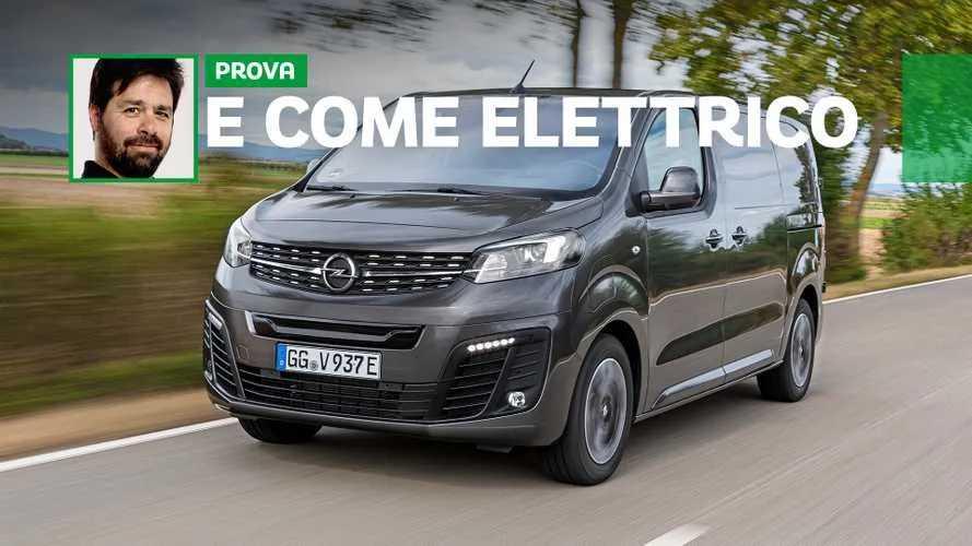 Opel Vivaro-e, un furgone decisamente elettrico
