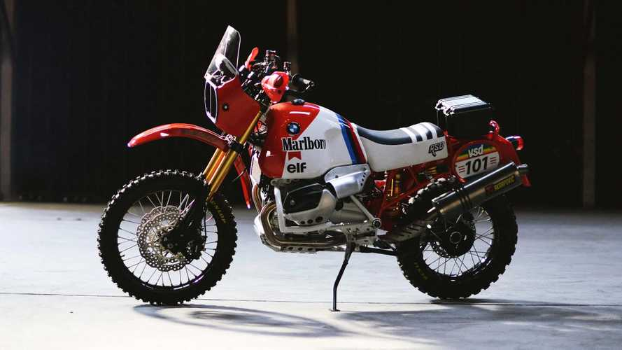 Roland Sands BMW Dakar GS Brings Back Bavarian '80s Rally Glory