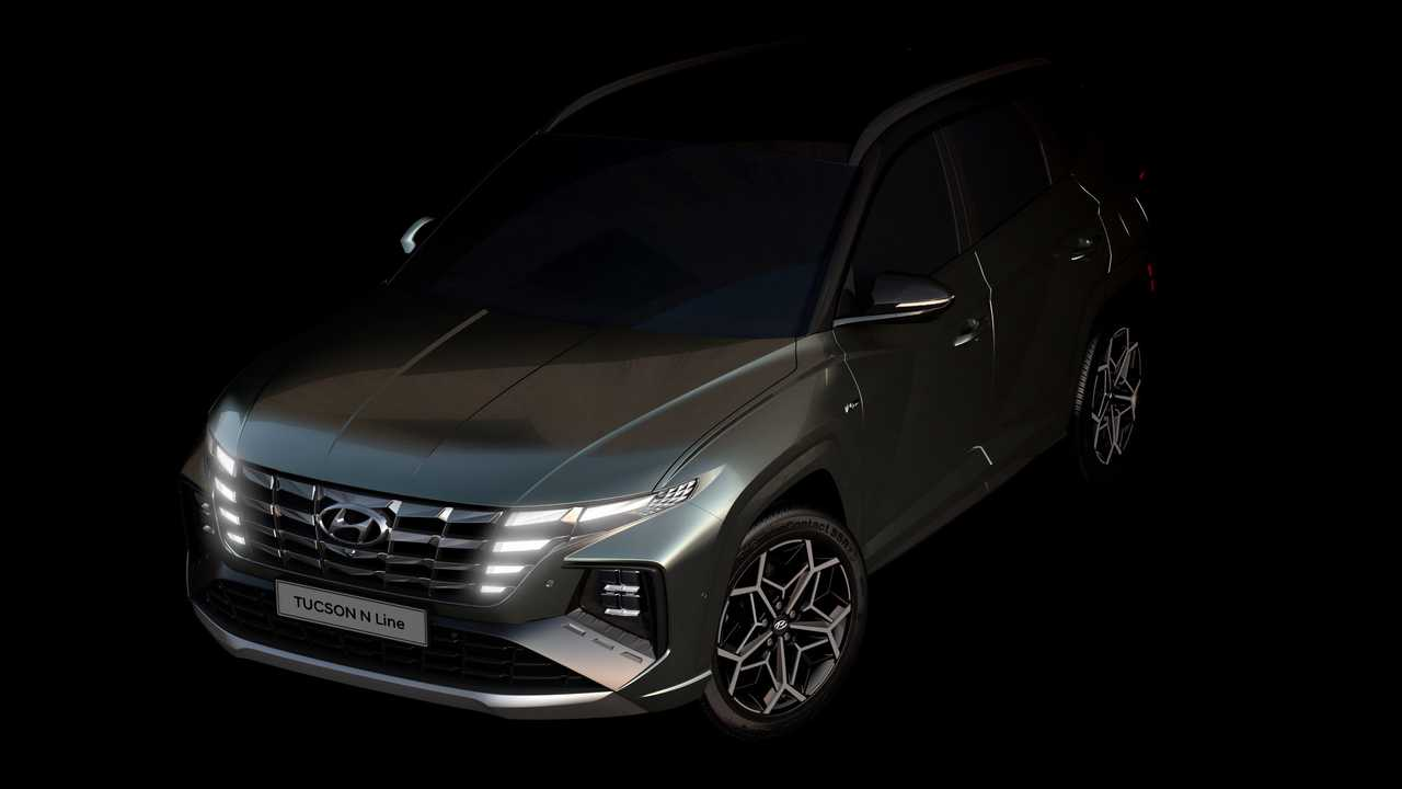 Hyundai Tucson N Line Front Teaser