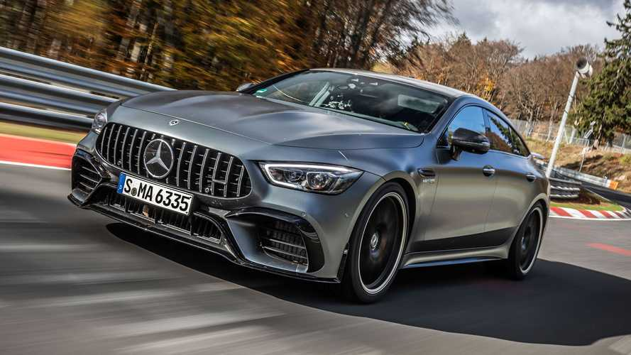 2021 Mercedes-AMG GT 63 S sets new Nurburgring class record