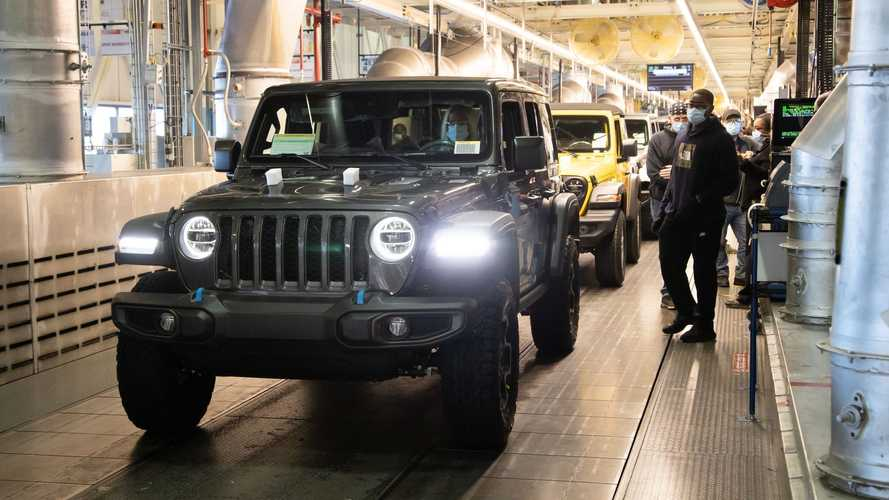 Jeep Launches Series Production Of Wrangler 4xe Plug-In Hybrid