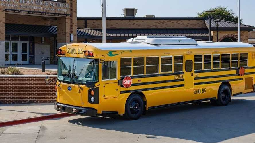 Blue Bird Delivers The First Electric School Buses In Texas