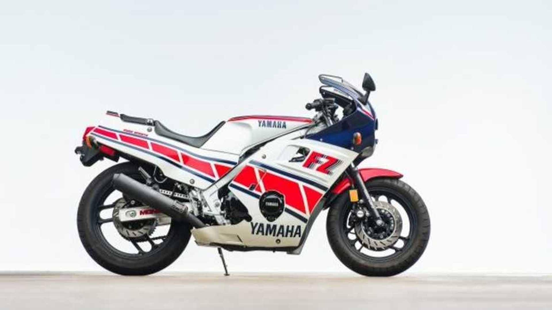 Screamer Of The 80s: Yamaha FZ600 For Sale