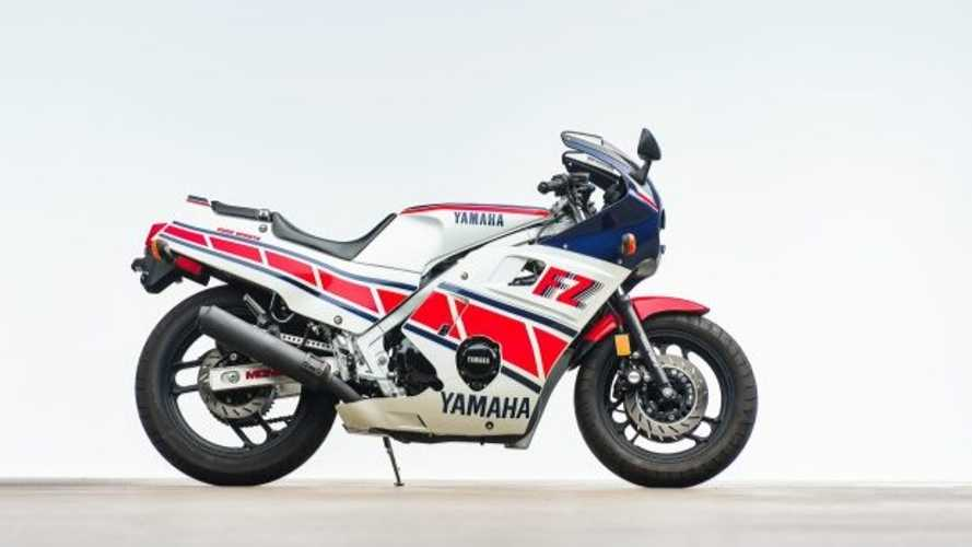 Screamer Of The 80s: Yamaha FZ600 For Sale