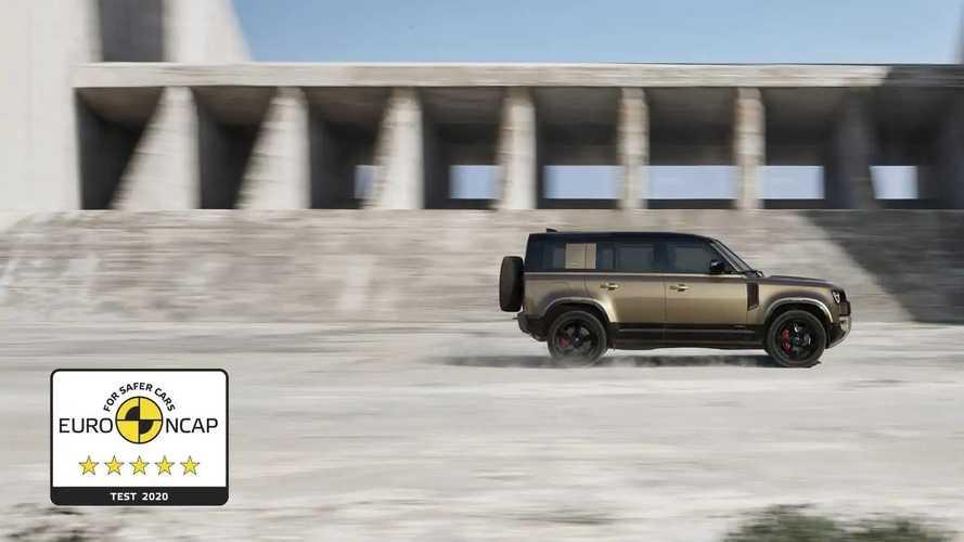 Euro NCAP crash & safety tests of Land Rover Defender (2020)