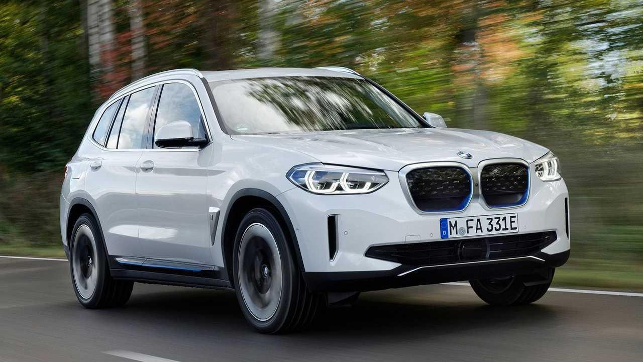 BMW iX3 im Schnelllade-Test