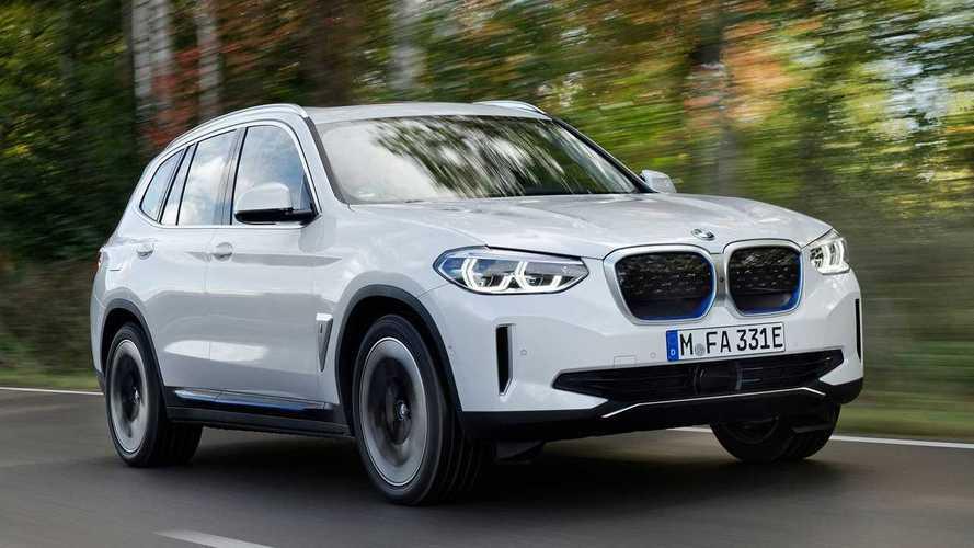BMW iX3 lädt Reichweite schneller nach als Mercedes EQC
