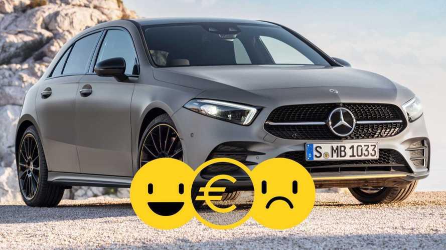 Promozione Mercedes Classe A a noleggio, perché conviene e perché no