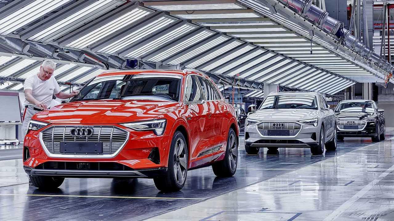 Audi e-tron - produção (Bélgica) (8)