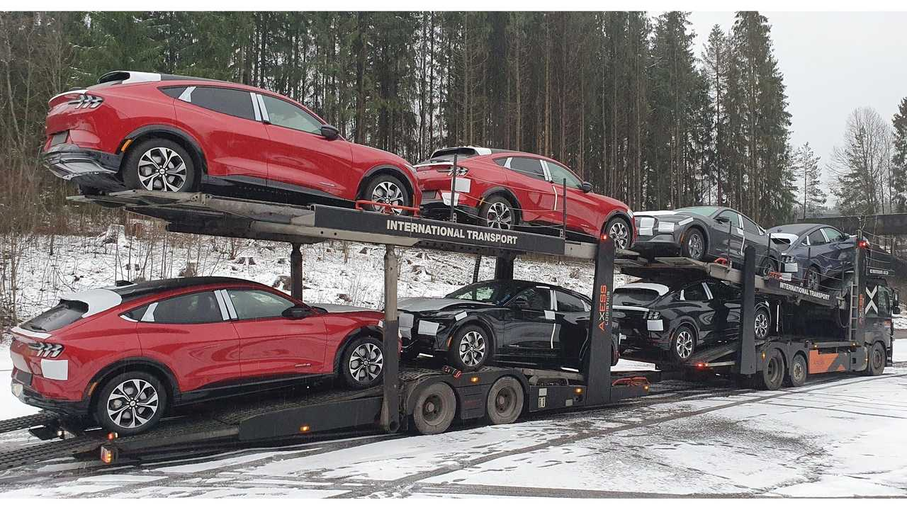 First Ford Mustang Mach-E in Norway (source: Ford Norge)