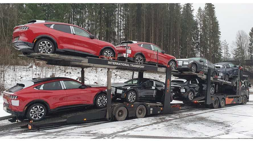 First Batch Of Ford Mustang Mach-Es Arrive In Norway