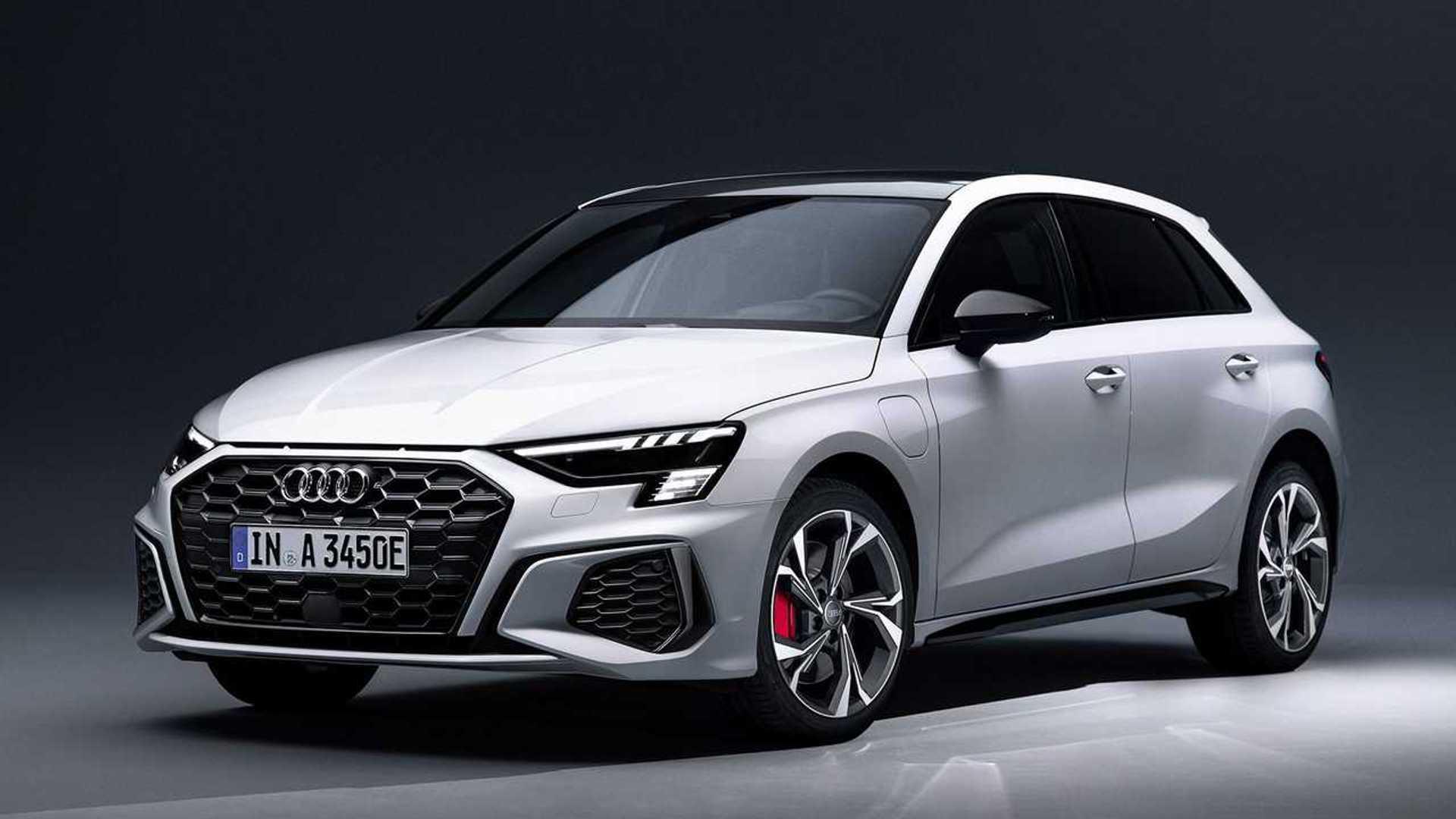 2021 Audi A3 Sportback 45 Tfsi E Has 242 Hp 39 Mile Electric Range Automotobuzz Com