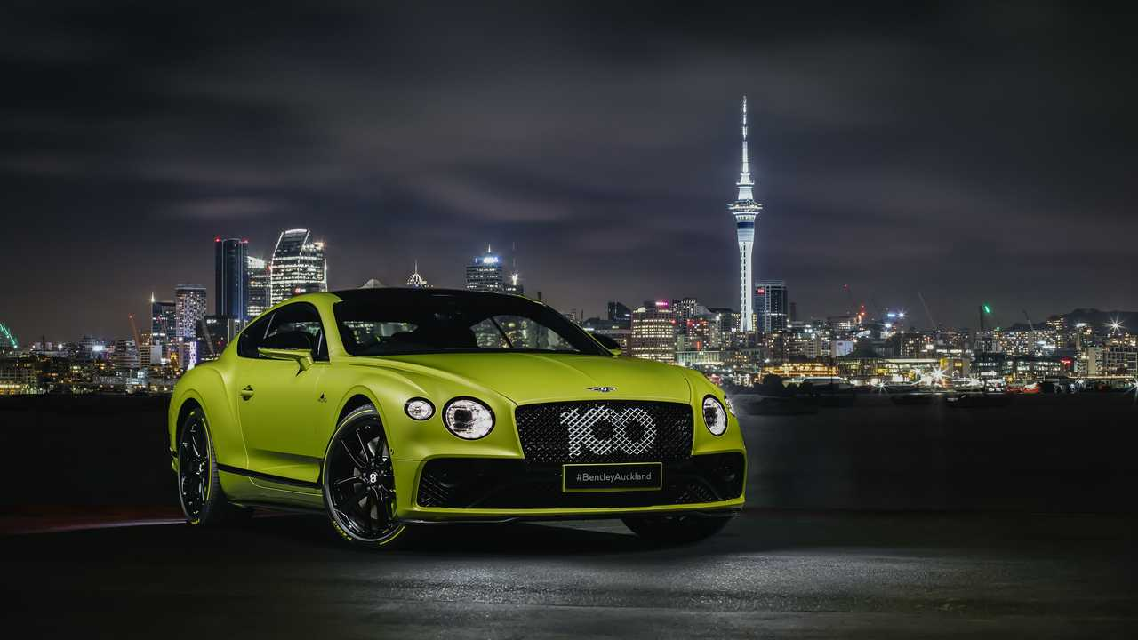 Bentley Continental GT Pikes Peak by Mulliner