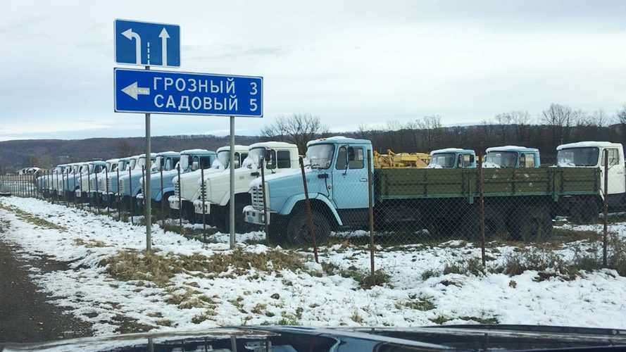 В рейс не ходил: мы нашли в Адыгее новые грузовики из 90-х