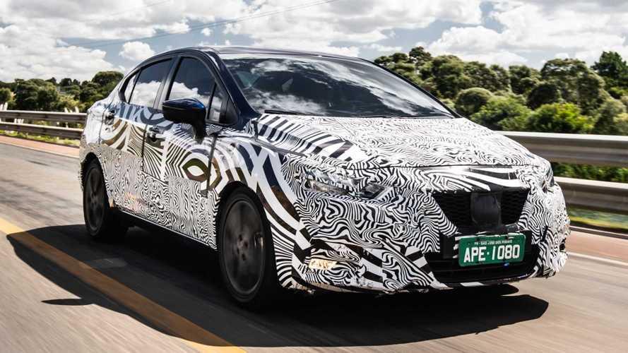 Novo Nissan Versa finaliza testes para estreia no Brasil em novembro