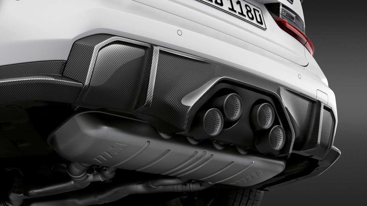 2021 BMW M3 Szedán és M4 Coupé M Performance alkatrészek