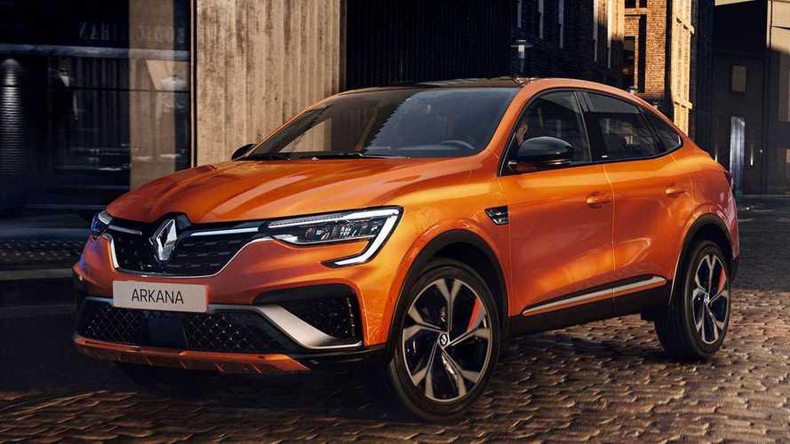 Cancelado no Brasil, Renault Arkana ganha versão híbrida para a Europa